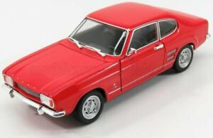 WELLY 1/24 FORD ENGLAND   CAPRI COUPE 1969   RED
