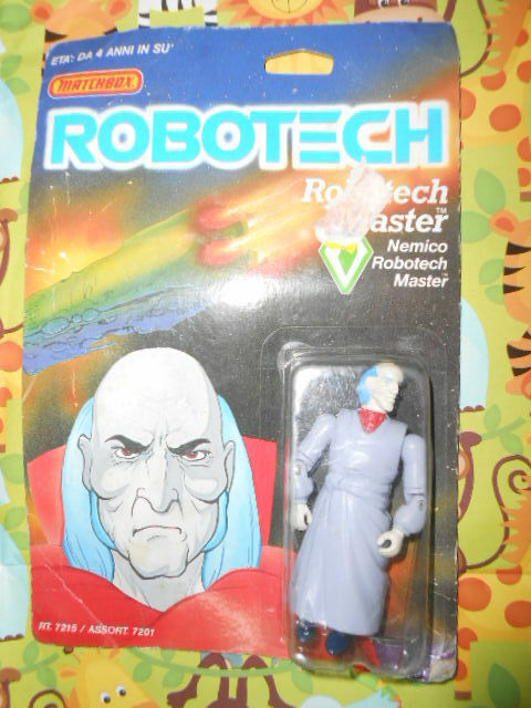 ROBOTECH MASTER Enemy Action Figure Robotech Matchbox Vintage