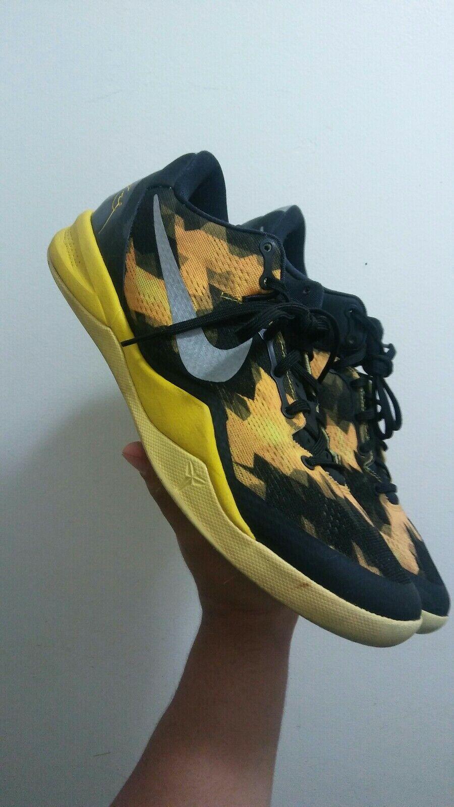 Nike Kobe 8 Electric Yellow Blitz Size 10.5