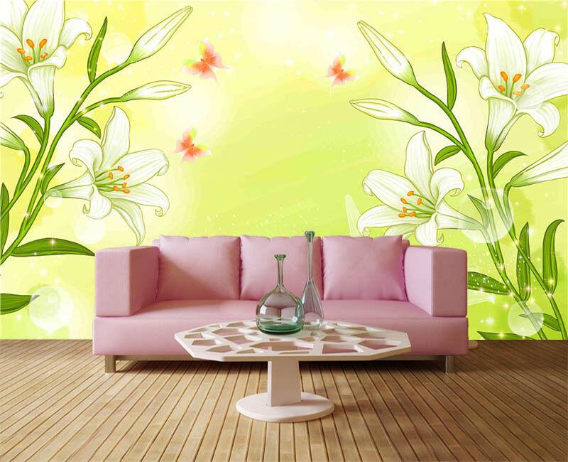 Grün Later Stuff 3D Full Wall Mural Photo Wallpaper Printing Home Kids Decor