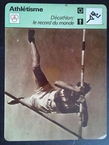 Sheet Editions Rencontre S.A Lausanne Running Decathlon Record of / The World