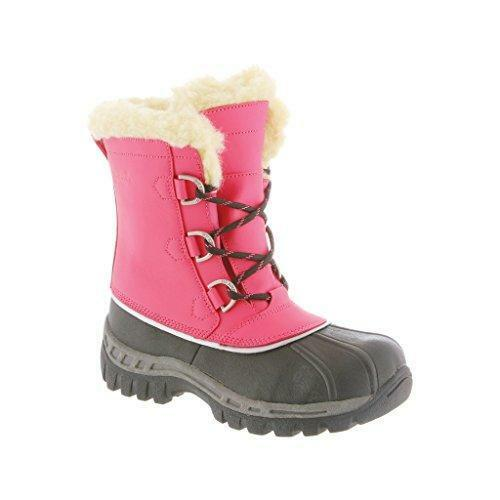 Bearpaw Kelly - Girl's Winter Waterproof Stiefel Rosa - 4 M Us Big Kid
