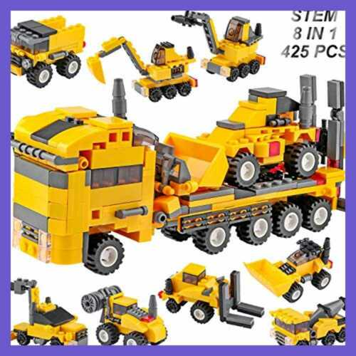 STEM Toy Engineering Building Blocks Educational Construction Bricks Kit Learnin