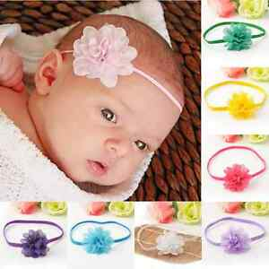 Lovely-10PCS-Kids-Baby-Girls-Toddlers-Infant-Flower-Headband-Hair-Band-Headwear