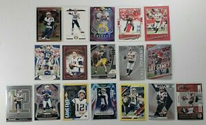 TOM BRADY - PATRIOTS & BUCCANEERS 2019 2020 Prizm Donruss Optic card lot