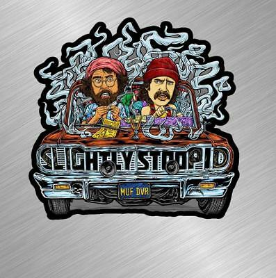 Cheech And Chong Zig Zags Vinyl Decal Sticker Car Wall Stoner Weed Joint Pot