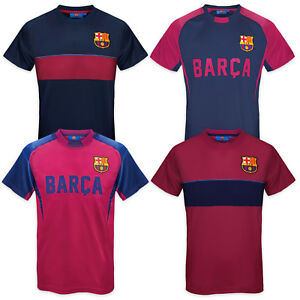 acd98c10d38 Image is loading FC-Barcelona-Official-Football-Gift-Mens-Poly-Training-