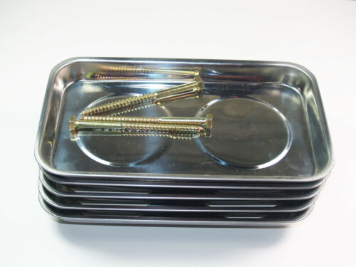 Craft-Equip 5 Stück Magnetschalen Teileschale Haftschale Ablage Montageschale
