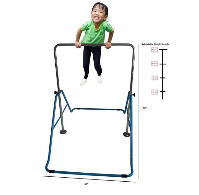 Kids Jungle Gymnastics Monkey Bars Climbing Tower Expandable Playground