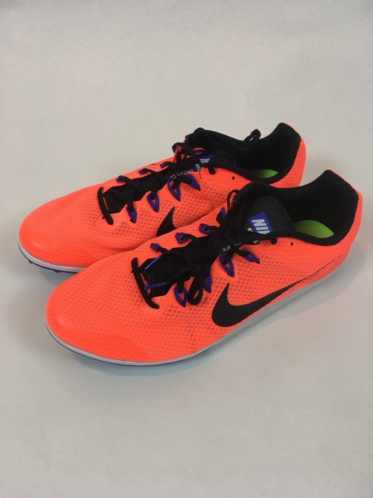 Cheap women's shoes women's shoes Men's Nike Zoom Rival D Track Shoes - Hyper Orange / Black - Comfortable
