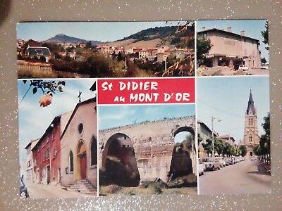 Cpa Cpsm Cpm 69 Saint Didier Au Mont D Or Différentes Vues La Cigogne Numerosos En Variedad