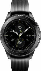 Samsung-Galaxy-Watch-42mm-Stainless-Steel-Midnight-Black-Bluetooth-VG