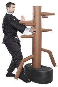 Freistehender Wing Chun Dummy, Format 163 x 78 cm, Trainingsgerät,