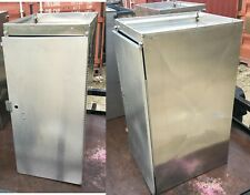 Royce Rolls 16 X 21 X 36 Stainless Steel Cabinet Upper Wall Tool Box Storage