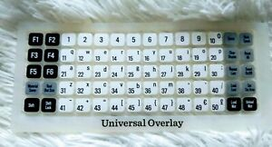 NEW CRICUT UNIVERSAL KEYPAD OVERLAY Not in Orig Packing