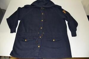 Coat Polo Kvinders Blue Hooded Lauren Navy Jakke M Medium Ralph Størrelse qnxTn1pwFC