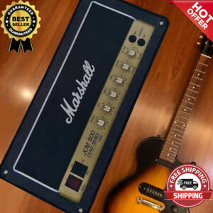 Marshall Guitar Amplifier Floor Carpet Modern Flannel Area Rug Vintage Home Deco
