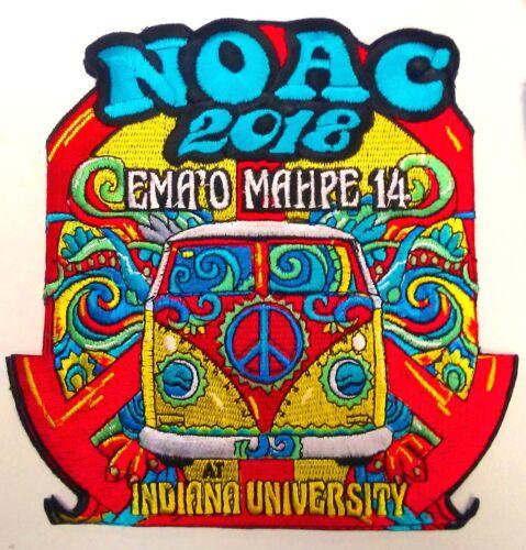OA EMA/'O MAHPE LODGE 14 CIMARRON BSA 2018 NOAC 10-PATCH 60/'s HIPPIE VAN 200 MADE