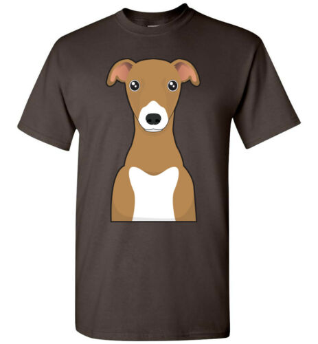 Italian Greyhound Dog Cartoon T-Shirt Tee Men Women Youth Tank Long Sleeve