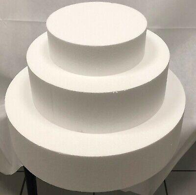10 Cm In Den Spezifikationen VervollstäNdigen KöStlich Dummy Set rund Styropor 10-20-30-40 Cm Ø