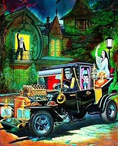 The Munsters Herman 1960's TV Show Koach Sticker or Magnet