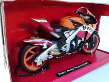 2007 NEW RAY 1:12 SCALE NICKY HAYDEN #1 PLATE REPSOL HONDA RC212V MOTO GP
