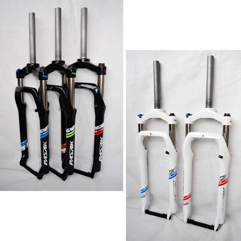 Horquillas de Suspensión De Aleación Para Bicicleta De Montaña Nieve Neumático 4.0  26 tenedor bicicleta de grasa sólida