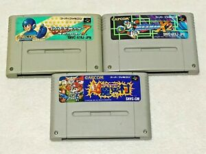 Rockman-Megaman-Cho-Makaimura-Lot-3-Nintendo-SFC-Super-Famicom-Japan-SNES-NTSC-J