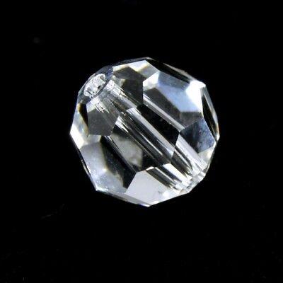 12 pieces Swarovski Element 5000 8mm Faceted Round Balls Bead Crystal VIOLET