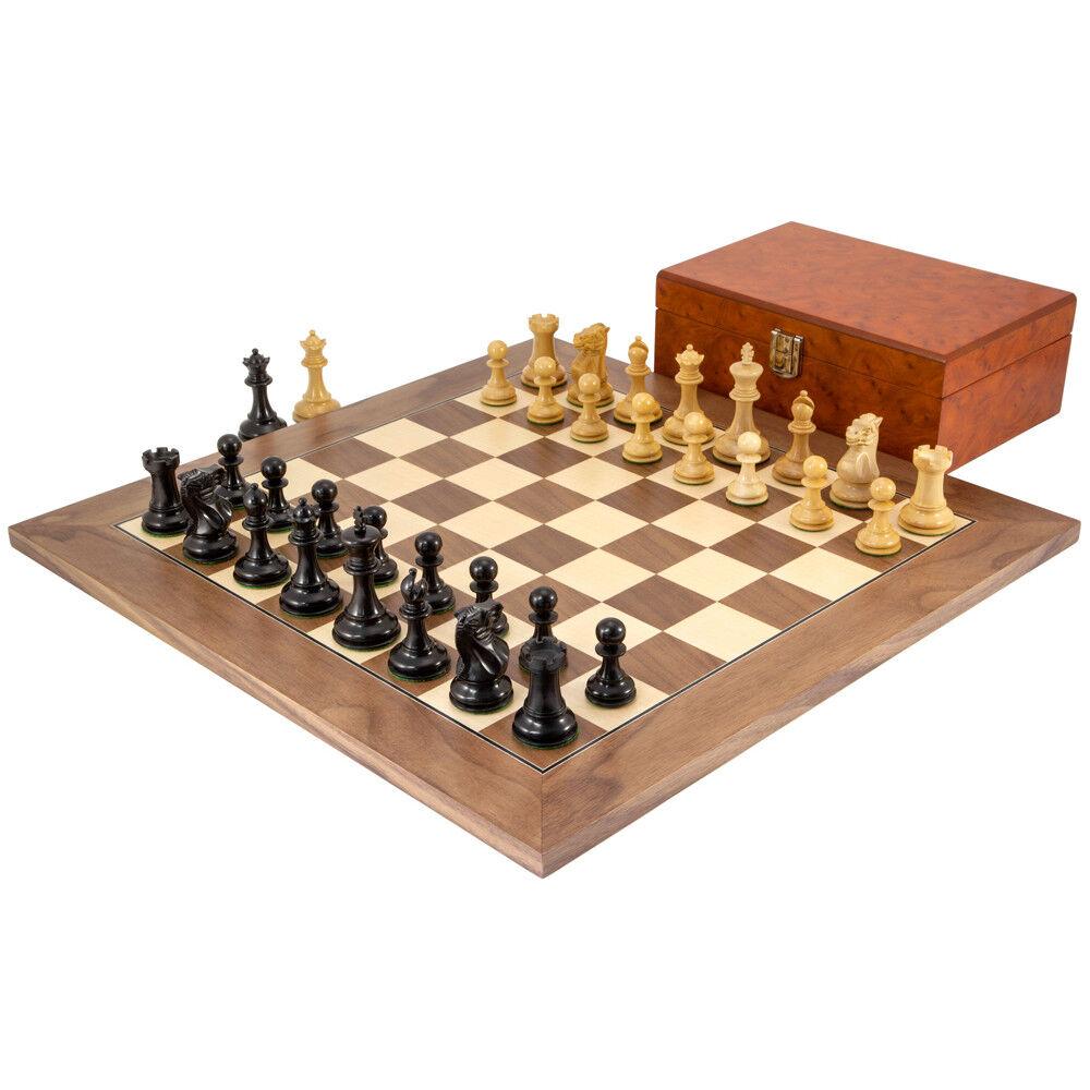 Highgrove NOCE Chess Set con Custodia