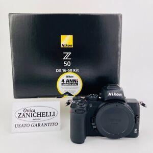 Nikon Z50 Body Fotocamera Digitale Mirrorless Usato