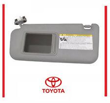 Genuine Toyota Highlander 04-07 Ivory Driver s Side Sun Visor OEM sun visor 4e1658e4992