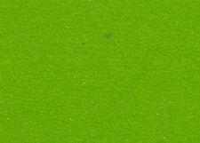 1 mt x 70 cm carta foglio velluto vellutata verde chiara scrapbooking