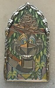 Disney-Pins-DLR-Pin-of-the-Month-Windows-of-Evil-KAA-Jungle-Book-SOLD-OUT