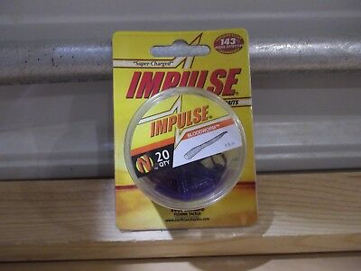 "Northland Impulse Water Flea 1.5/"" inches 20 per package black color"