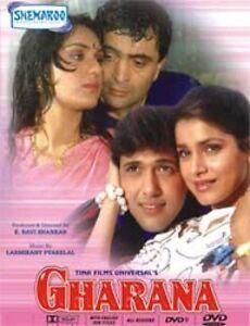 GHARANA-Rishi-Kapoor-govinda-NEW-BOLLYWOOD-DVD