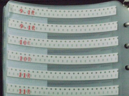 1/% 0603 SMD SMT chip resistor assorted book 170 values total 8500pcs