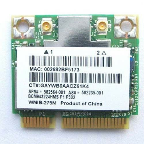 HP Mini 1025TU Broadcom WLAN Drivers Download (2019)