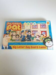 Postman-Pat-Big-Letter-Day-Board-Game-2-4-players-Age-3-Rare-Paul-Lomond-2004
