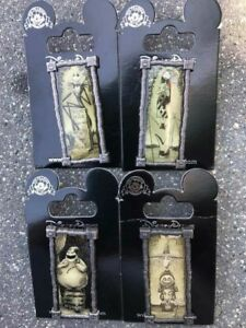 image is loading disney trading pin set of 4 haunted mansion - Haunted Mansion Nightmare Before Christmas