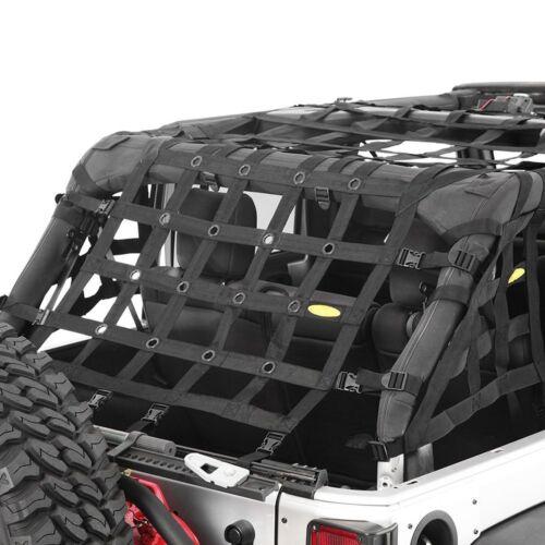 For Jeep Wrangler JK 2018 Smittybilt 571135 C-RES.2 HD Cargo Restraint System