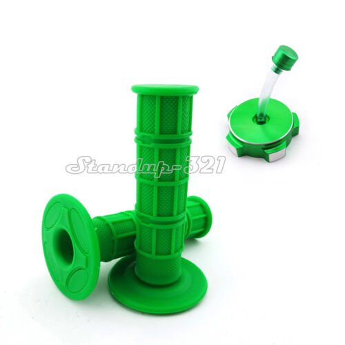 Green Gas Tank Cap Cover Throttle Handle Grips Chinese Pit Dirt Motor Trail Bike
