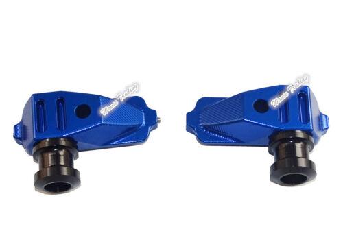 CNC Racing Swingarm Spool Slider Adapter Mounts For 2013-2017 HONDA CBR500R PC44