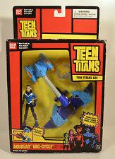 """RARE 2004 Aqualad Vac-Cycle 6"""" Action Figure Vehicle DC Comics Teen Titans Go"""