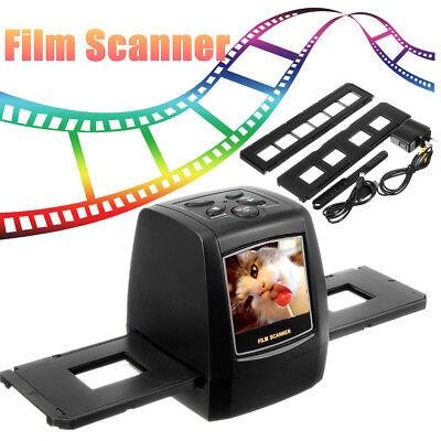 5MP Negative Film Slide Scanner Photo Digital Image USB/SD Digitizer 35mm/135mm