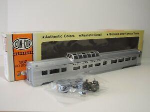 HO 85' Budd Dome car New York Central  #10642  Concor #0001-000785-1