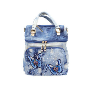 New-Womens-Casual-Denim-Crossbody-Shoulder-Bag-Backpack-Handbag-Messenger-Girls