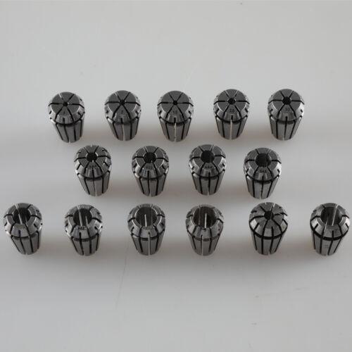 ER11 Metric Spring Collet For CNC Milling Machine Engraving Lathe Tool