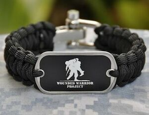 Image Is Loading Wounded Warrior Project Paracord Survival Bracelet By