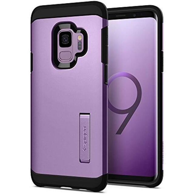 info for b7328 b45c5 Spigen Tough Armor Case for Samsung Galaxy S9 - Lilac Purple